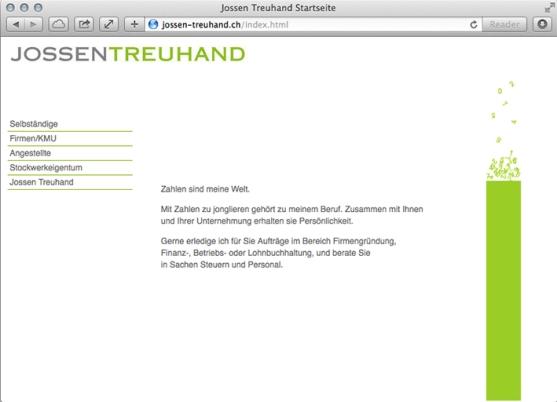 Website – Startseite
